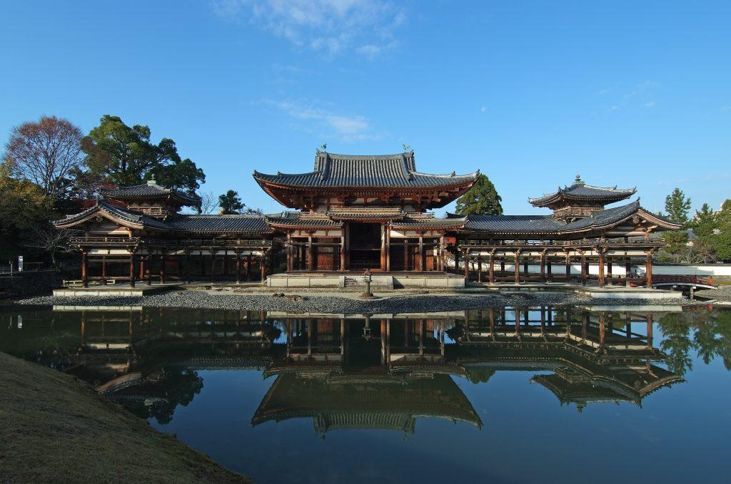 Byodoin templo madera modelismo