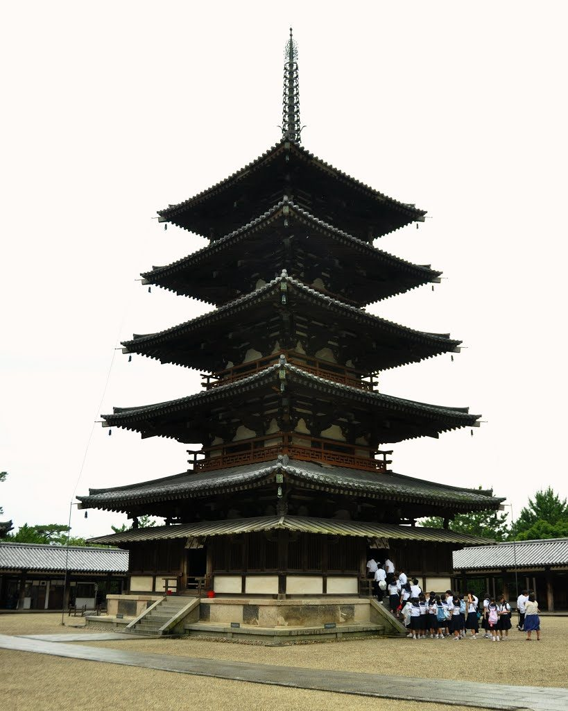 horyu-ji five story pagoda