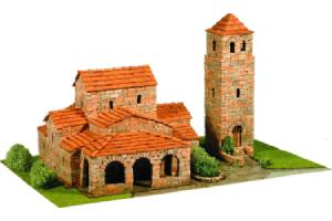 construccion iglesia a escala