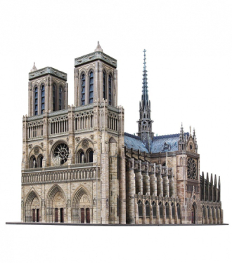 notre dame papercraft