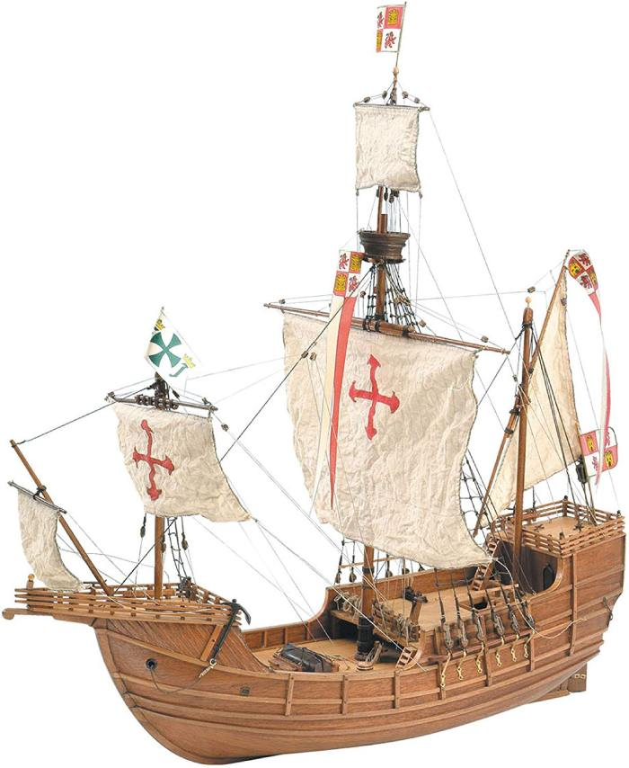 Maqueta-barco-santa-maria
