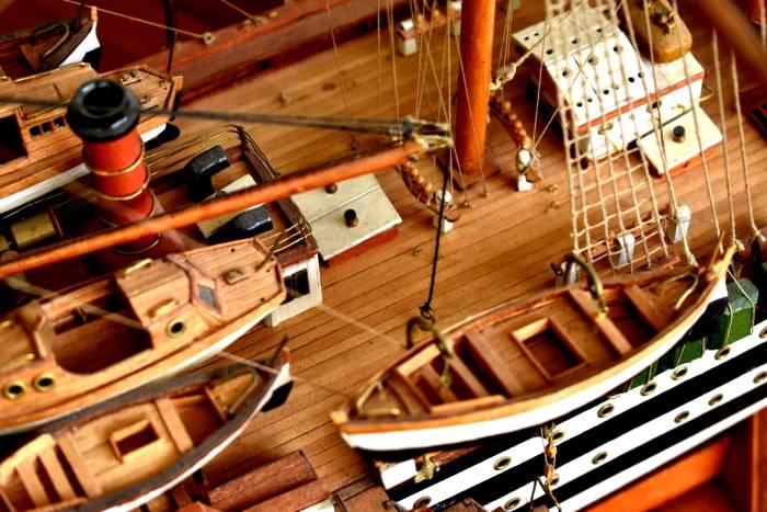 maquetas de barcos iniciacion