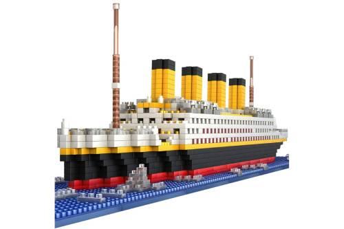 maqueta titanic montada