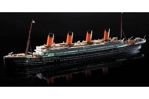 maqueta titanic lee